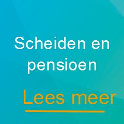 scheiden en pensioen - Scheidingsplanner Hoofddorp - Badhoevedorp - Nieuw-Vennep